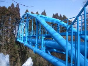 大松沢水管橋(秋田市)